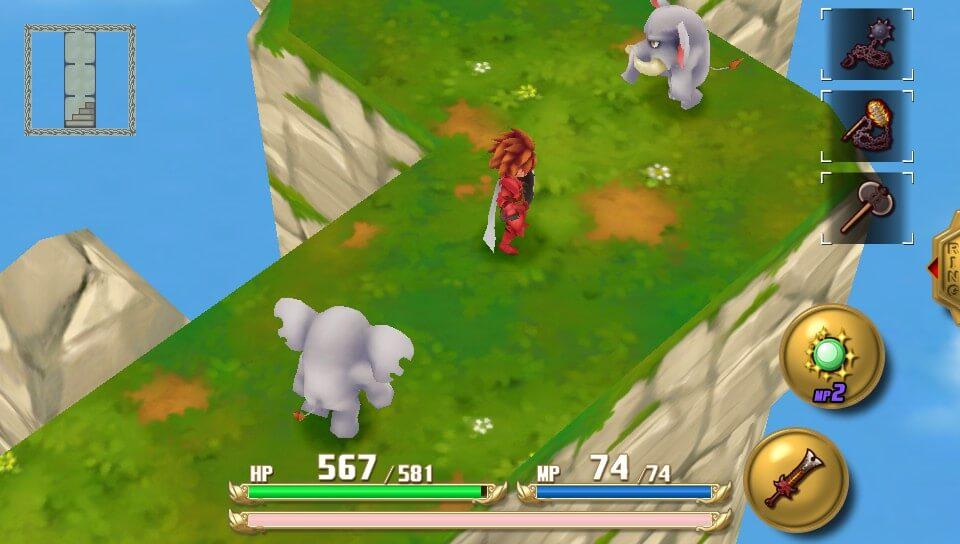 2足歩行のゾウ