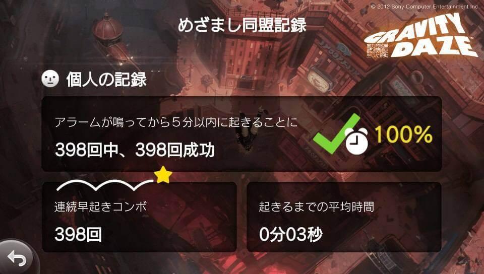 めざまし同盟記録2
