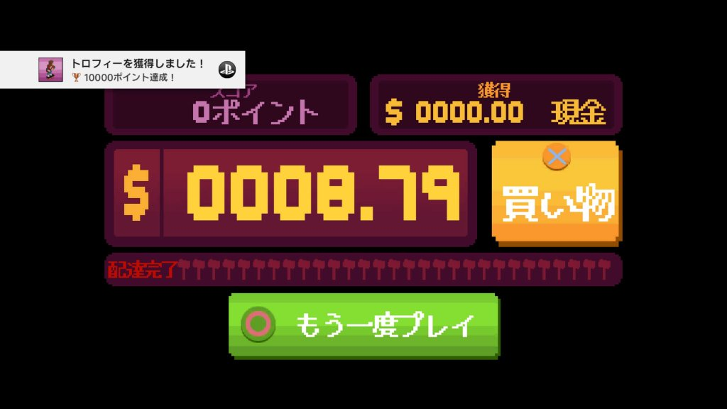 10000ポイント達成!