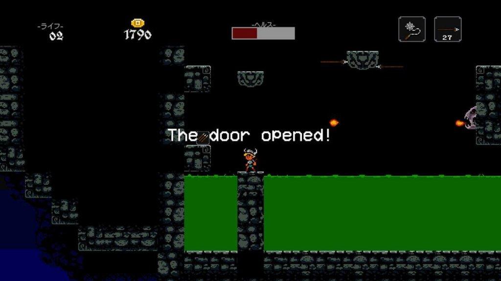The door opened!