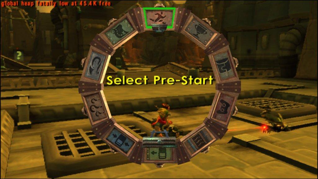 Select Pre-Start