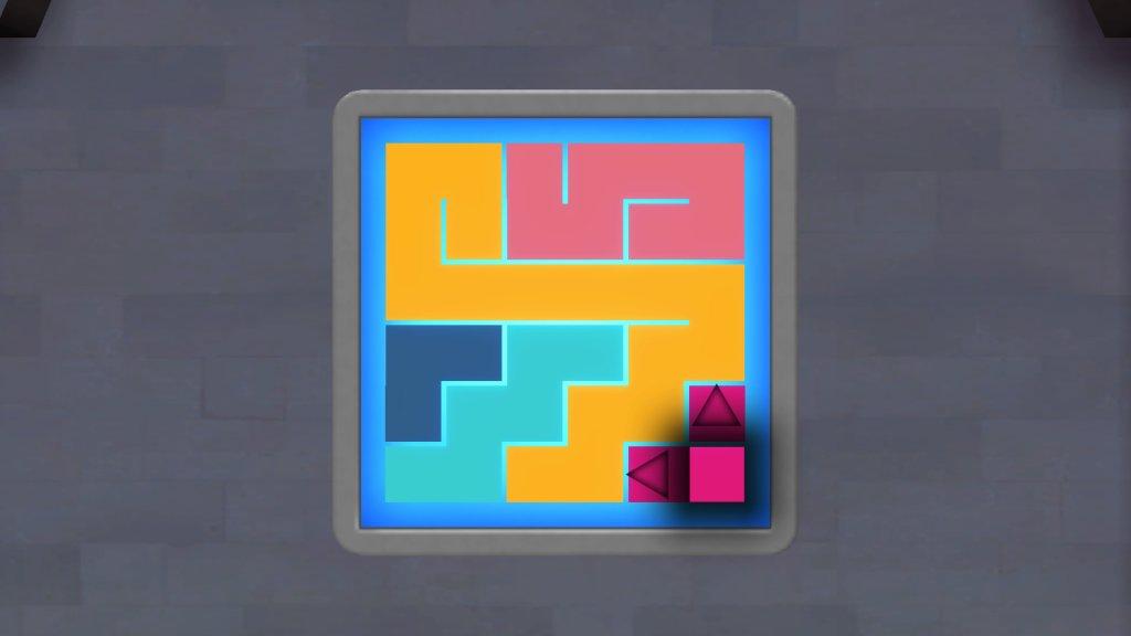 中央壁のパズル