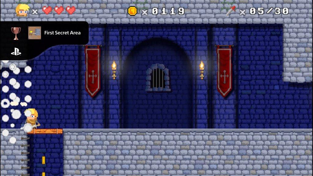 First Secret Area