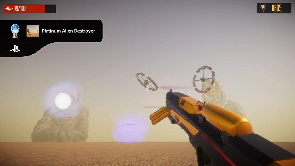 Platinum Alien Destroyer(Get all trophies)