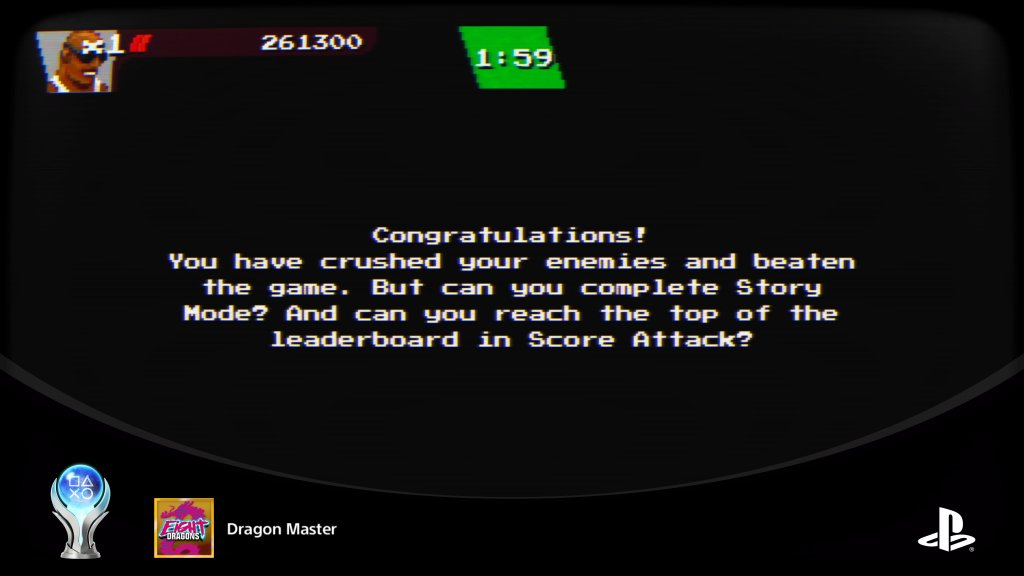 Dragon Master(Complete all trophies)