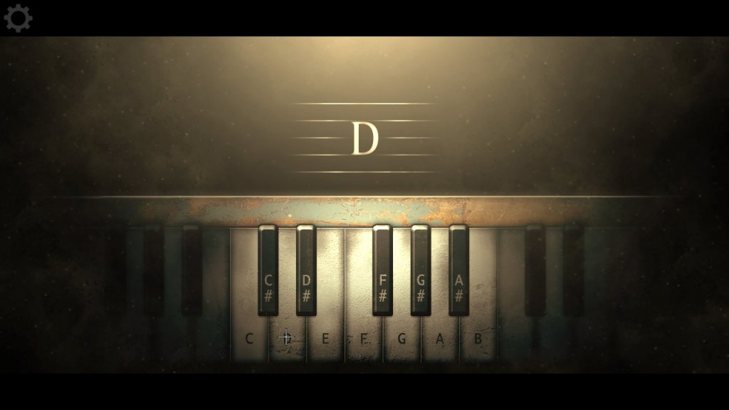 鍵盤を叩く
