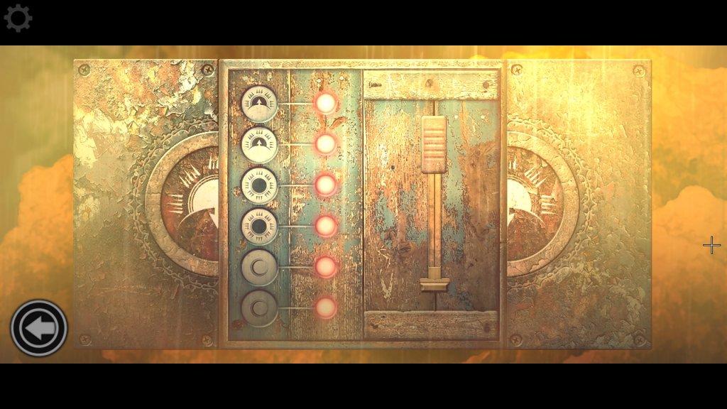 電飾が巻き付いたパズル
