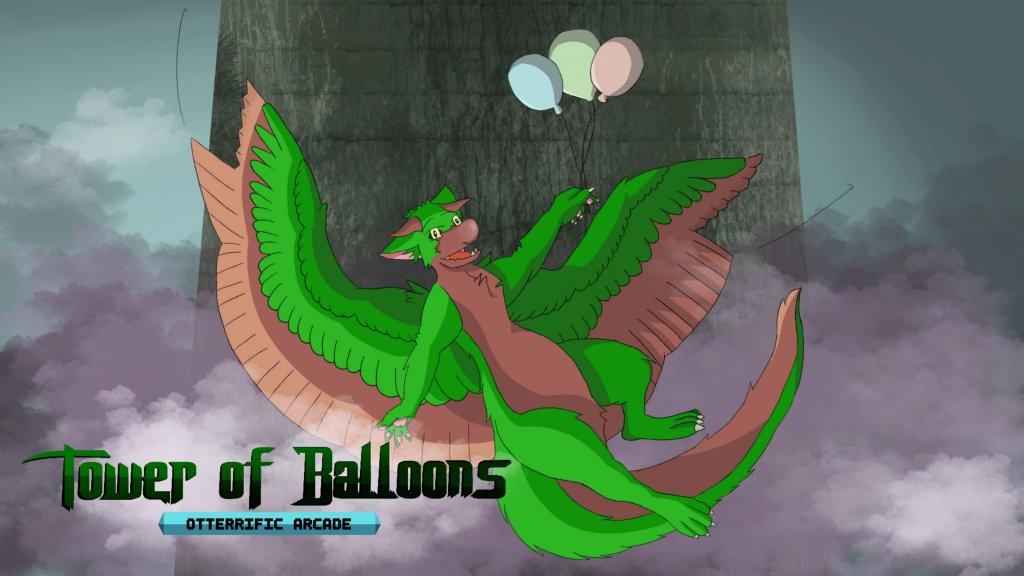 Tower of Balloons: Otterrific Arcade
