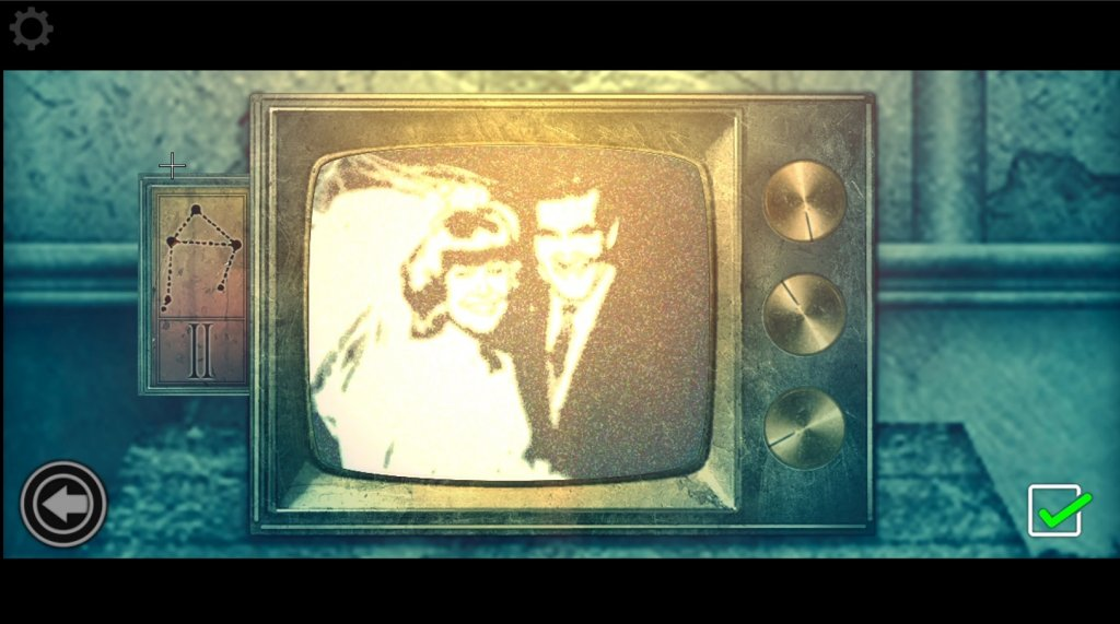 ダイヤル式テレビ