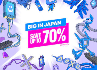 【北米】『Big In Japan』セールからトロフィー攻略記事をピックアップ(10/7まで)