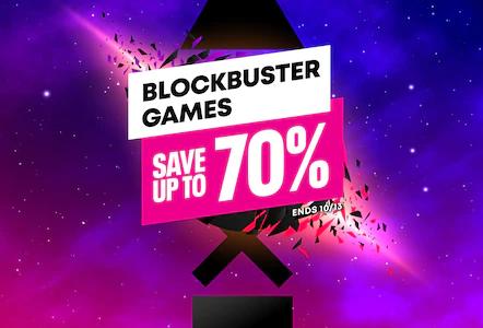 【北米】『Blockbuster Games Sale』からトロフィー攻略記事をピックアップ(10/14まで)